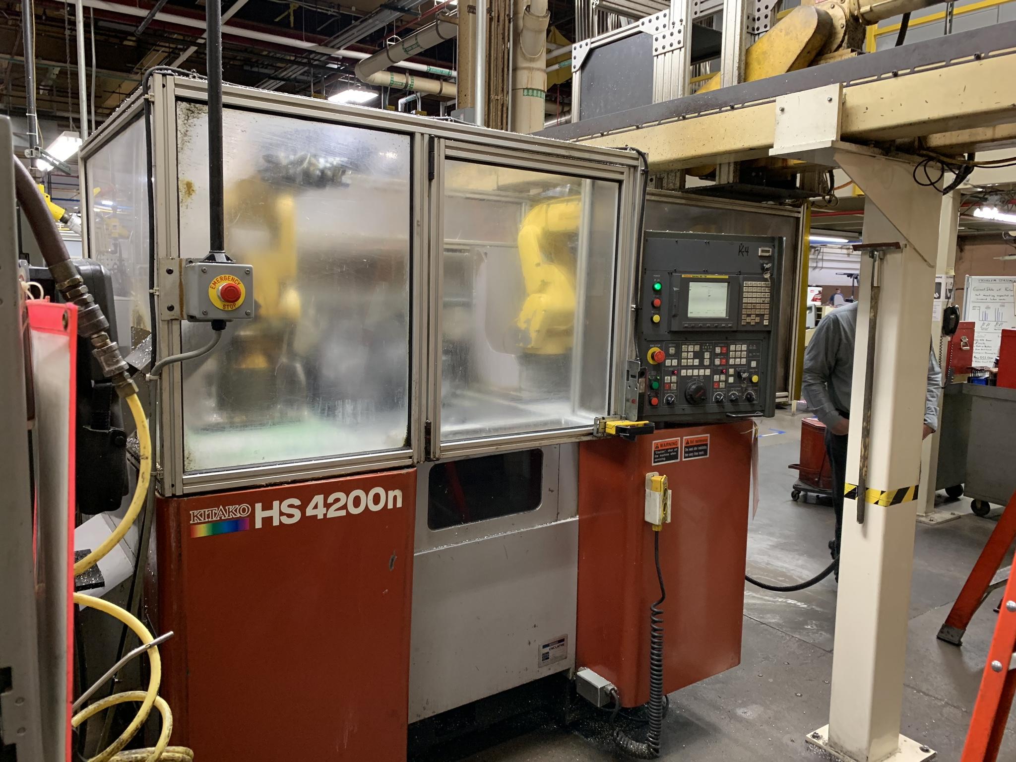 Used CNC Multi-Spindle Lathe Kitako HS4200N 2007